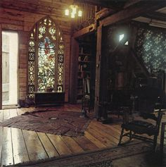 I want stained glass!