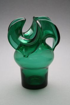Czeslaw Zuber Polish glass from around 1970 by RetroMinded
