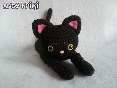 Amigurumi Gato Negro : Perro amigurumi dog crochet ganchillo peluche plush blog arte