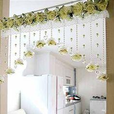 цветочные аксессуары для штор