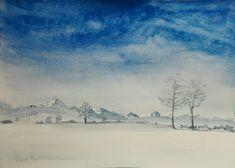 Vasilii TRUBNIKoff` ART. Исцеление акварелью