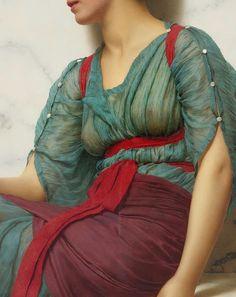 The Love Letter  -  William Godward (1861-1922) The Love Letter (Detail) Oil on canvas, 1907
