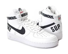 the latest 40eb6 f1189 Air Force Ones, Nike Air Force, Nike Cortez, Supreme, Sneakers Nike,