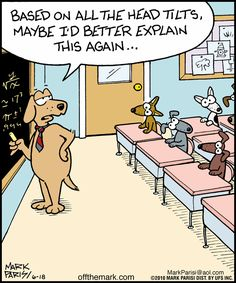 dog school. Off the Mark by Mark Parisi June 18, 2010
