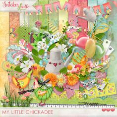 Collections :: M :: My Little Chickadee by Snickerdoodle Designs :: My Little Chickadee Kit