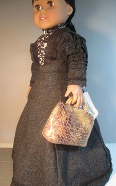 SPECIAL ORDER Susan B Anthony doll dress and by FlossiePotter, $48.00