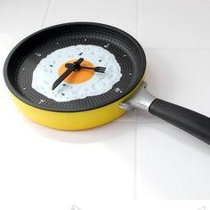 후라이팬 시계