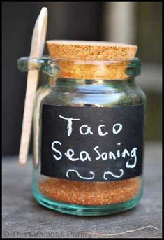 Clean Eating Taco Seasoning (Click Pic for Recipe) I completely swear by CLEAN eating!!  To INSANITY and back....  One Girls Journey to Fitness, Health, & Self Discovery.... http://mmorris.webs.com/