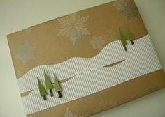 Gift wrap idea by MarylinJ