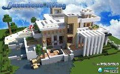 Afbeeldingsresultaat voor minecraft modern villa