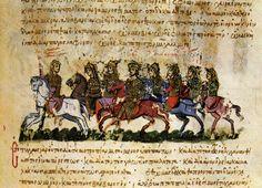 Thomas the Slav flees to the Arabs (Fol. 30r)