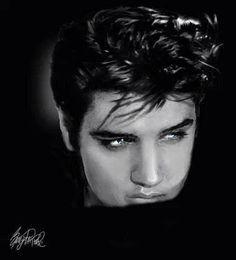 Elvis by Beth Harper