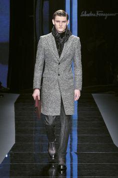 Look 22 Salvatore Ferragamo Men's AW Collection 2012-2013