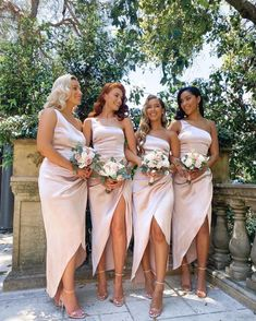 Bridesmaids And Groomsmen, Wedding Bridesmaid Dresses, Dream Wedding Dresses, Wedding Attire, Wedding Goals, Perfect Wedding, Getting Married, Marie, Wedding Inspiration