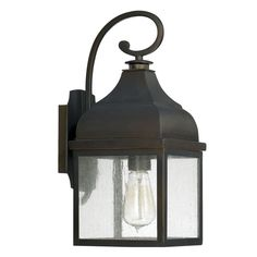 Southfork Lighting | Westridge - One Light Outdoor Wall Lantern