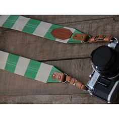 ROBERU Canvas Camera Strap - Lime *Limited Edition