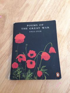 Somber, poignant & very real. Poems of the Great War 1914-1918.