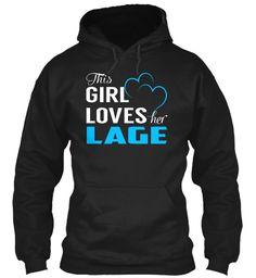 Love LAGE - Name Shirts #Lage