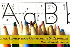 BIG List of Free Homeschool Curriculum and Resources