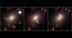 Cosmic threesomes make some galaxies run away