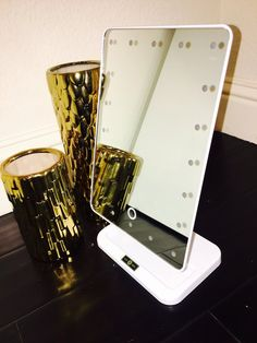 Lux LED Lights Portable Vanity Mirror