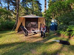 Campingtip: Natuurcamping De Waps, ruim kamperen in het Friese bos - Kampeermeneer Van Camping, Camping With Kids, Tent Living, Eindhoven, Happy Kids, Happy Campers, Outdoor Gear, Places To Visit, Caravan