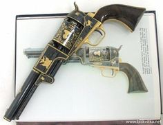 "Colt Dragoon. ""Well, if I had a horse pistol like that, I wouldn't be scared of no booger-man."" -- John Wayne (True Grit)"
