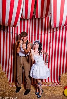 cute backdrop for a circus party