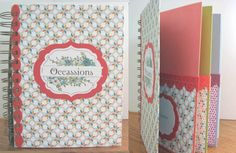 Sycamore Street Card Organizer - Occassions by threebys - Cards and Paper Crafts at Splitcoaststampers