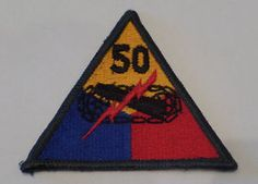 ORIGINAL WWII US ARMY PATCH 10TH ARMORED DIVISION
