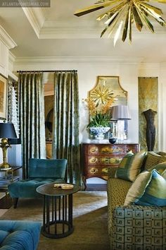 Hollywood Regency inspired room This style was the look in the 1920's and 1930's