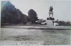 Monumentul Eroilor Sanitari anul 1934 – Cotroceni1900.ro Bucharest, Modernism, Time Travel, Snow, Traveling, Outdoor, Medicine, Military, Romania