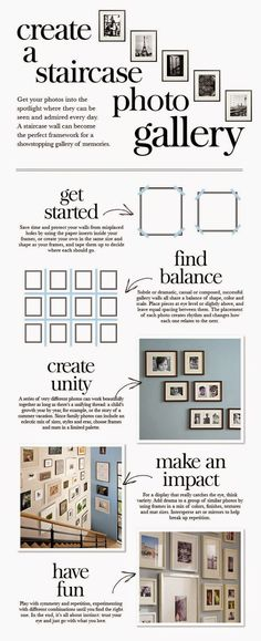 How to Create a Staircase Gallery