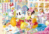 TEN-DSG266-735 ディズニー ミッキーに愛をこめて…(ミッキー) 266ピース ステンドアートジグソーパズル[CP-D]
