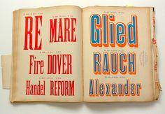 Paul Rand's (& Jan Tschichold's) Type Specimen Book | typetoken®