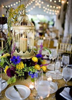 1000 images about decorating with bird cages on pinterest decorative bird - Decoration cage oiseau ...