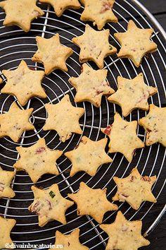 biscuiti-sarati-cu-sunca-si-ceapa-verde-7 Vegan, Desserts, Food, Appetizers, Tricot, Tailgate Desserts, Deserts, Essen, Postres