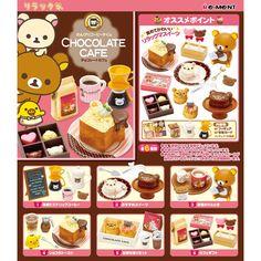 Rilakkuma Chocolate Cafe  Amazon.co.jp: リラックマ チョコレートカフェ 6個入 Box: ホビー