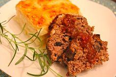Earthy Veal and Mushroom Meatloaf- restaurant-style meatloaf made simple