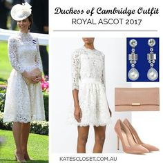 """361 Likes, 2 Comments - Kates Closet (@katesclosetau) on Instagram: """"Visit the blog (link in bio) for all the details on Kate's Royal Ascot outfit """""""