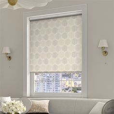 Sprigs Woodland Neutral Roller Blind