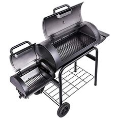 Get the traditional smoking experience andflavor with the with the Char-Broil® American Gourmet® Offset Smoker. Char Griller Smoker, Char Broil Smoker, Bbq Grill, Grilling, Barbecue, Smoker Stand, Fire Pit Bbq, Charcoal Smoker, Food Equipment