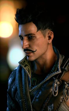 Dorian Pavus, the only person to mak that mustache hot.