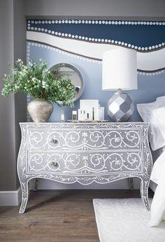 Kim Matza | Rue (love that dresser and lamp)