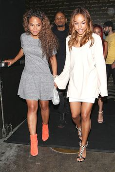 "*EXCLUSIVE* Besties Christina Milian and Karrueche Tran make it a Girls"" Night Out  *USA ONLY**"