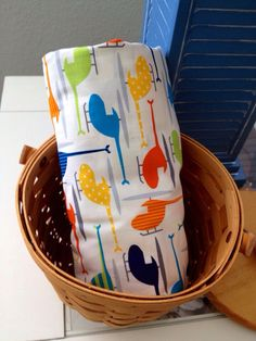 Crib / Toddler Bed Sheet / Organic Cotton by TextilesbyNona, $35.00