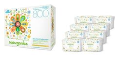 Amazon: Babyganics Fragrance-Free Face Hand and Baby Wipes, 100 ct, (Pack of 8) $16.61 {$2.07/pkg.}