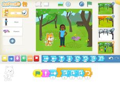 This game teaches children to code. It can also develop their creativity.