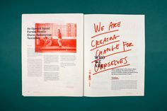 Spare Change News on Behance