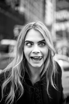 Cara Delevingne - DKNY Spring/Summer 2014 (Behind the Scenes) NY Photographed by: Cesar Andrés Santamaría :: bit.ly/dazzstyle :: D A Z Z L I N G X S T Y L E